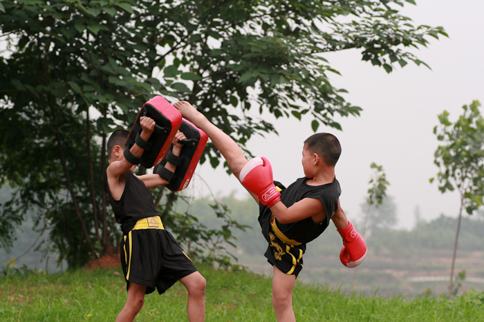 Houston Kung Fu Summer Camp Kickboxing